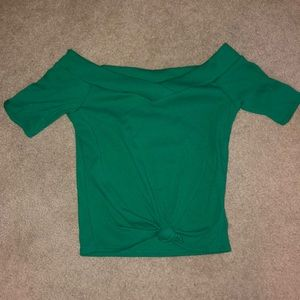Small green top from Charlotte Russe